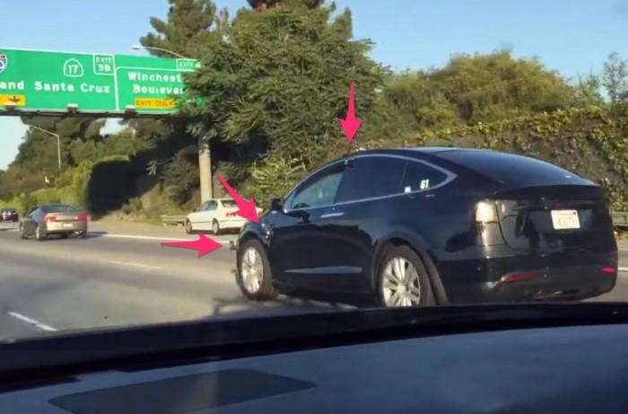 Model X в Сан Роуз