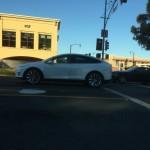 Tesla Model X в Калифорнии