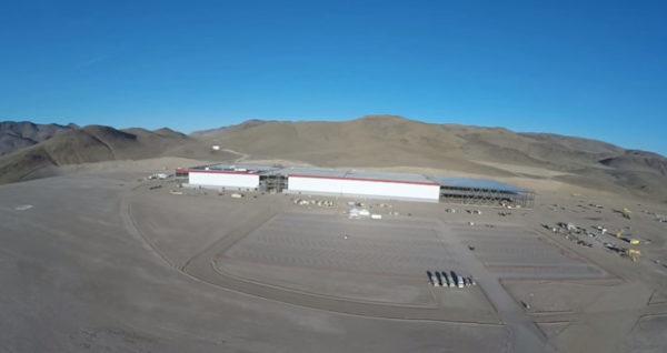 Gigafactory в Неваде