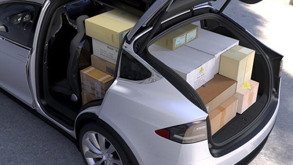 Багажник Model X