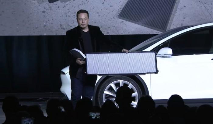 Фильтр салона на Tesla Model X