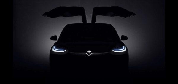Презентация Tesla Model X