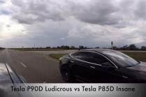 Видео: Tesla Model S P90D против P85D