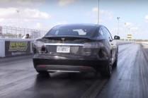 Нарезка драг-рейсинга с Tesla P85D от Drag Times