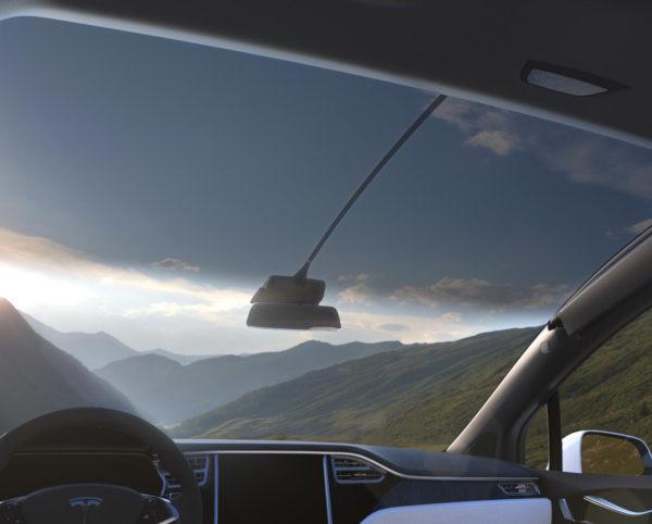 Панорамное стекло Model X