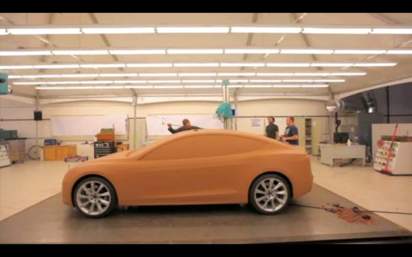 Возможно, снимок Tesla Model 3 из ТВ-программы 60 минут в Австралии