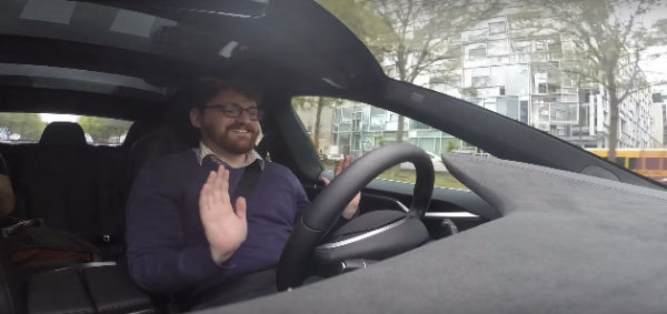 Автопилот на Tesla Model S
