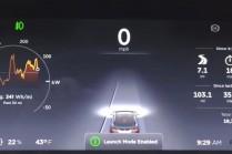 Новый «Режим быстрого старта» в прошивке Tesla