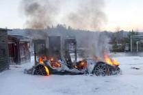 Tesla установила причину возгорания Model S в Норвегии