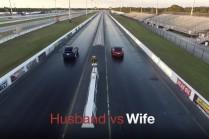Видео: семейный драг-рейсинг Model X P90D против Model S
