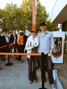 Первый владелец презаказа на Tesla Model 3 в Мельбурне, Австралия