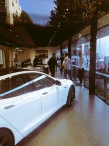 Магазин Tesla в Мельбурне