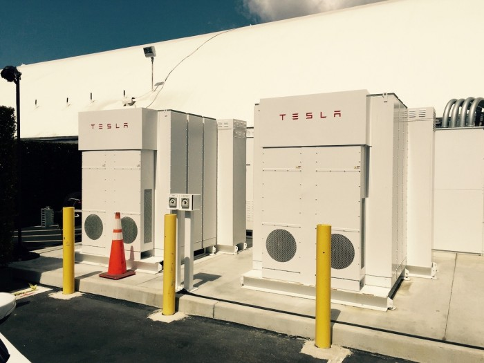 Tesla Energy Powerpacks