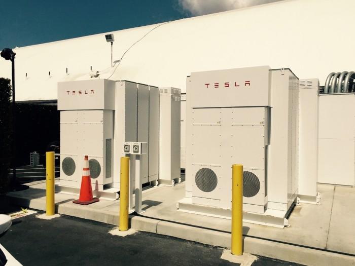 Tesla Energy Powerpacks