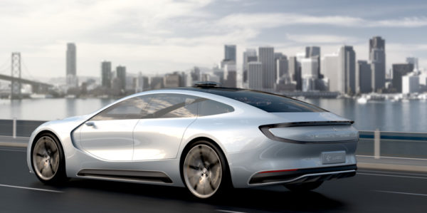 Китайский электромобиль LeSEE