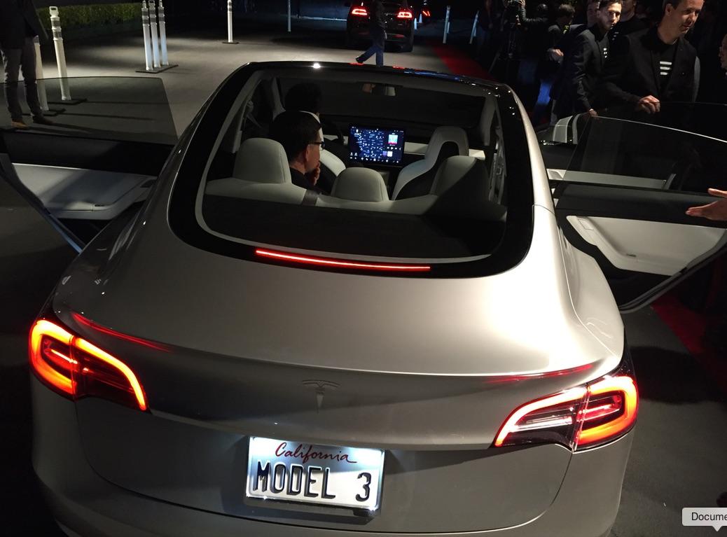 Панорамная крыша Model 3