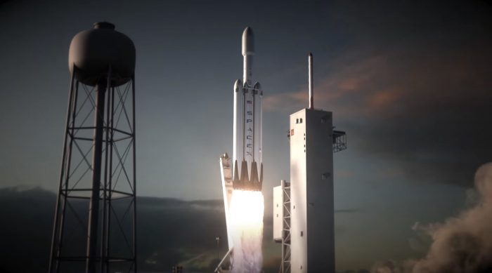 Ракета SpaceX Falcon Heavy