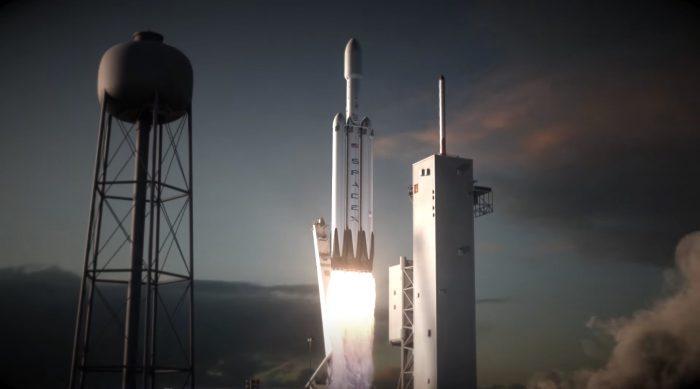 Ракета SpaceX Falcon Heavy