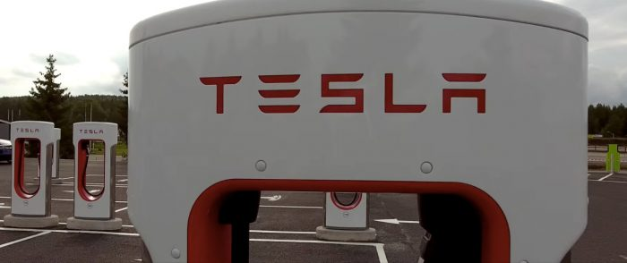 Tesla Supercharger в Норвегии