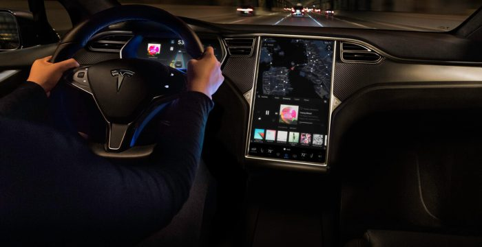 Прошивка Tesla версии 8.0