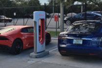 Драг-рейсинг: Tesla Model S P100D против Lamborghini Huracan LP610-4