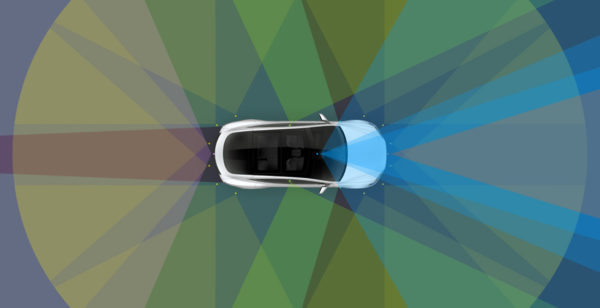 Новое оборудование для Автопилота Тесла