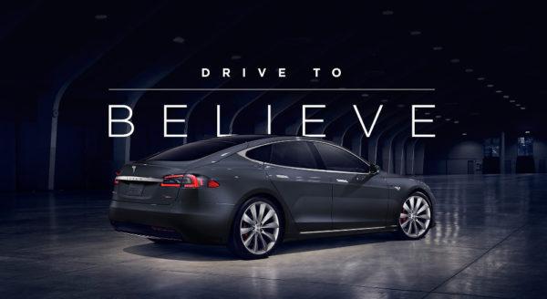 Программа Drive to Believe от Tesla