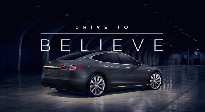Программа Drive to Believe от Tesla
