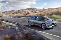 Электромобиль I-PACE — новый кроссовер от Jaguar