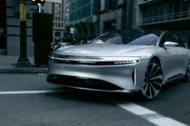 Lucid Motors объявила цену $60 000 на базовую версию седана Air
