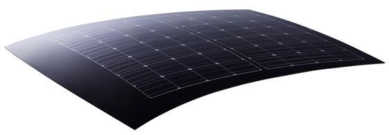 Солнечная панель Panasonic для крыши авто