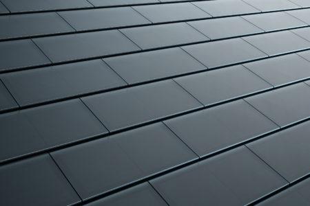 Гладкая стеклянная черепичная крыша