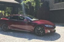 Вот как держится Tesla Model S спустя 5 лет