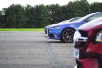 Видео: Tesla Model S P100D соревнуется с немецкими конкурентами