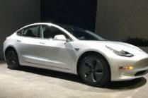 Первая подержанная Tesla Model 3 выставлена на продажу за $150000