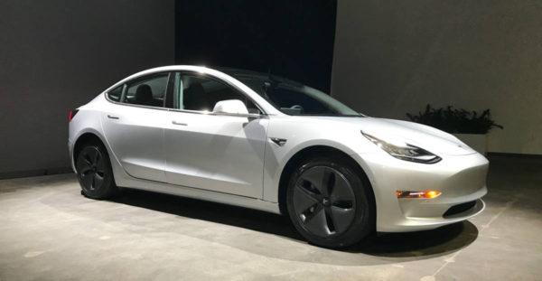 Tesla Model 3 за $150000 из объявления
