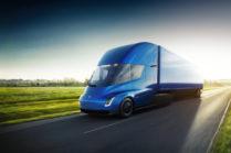 Tesla Semi: 800+ км без подзарядки, невероятная аэродинамика, производство в 2019