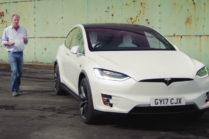 Кларксон сделал обзор Tesla Model X в «Гранд-туре»