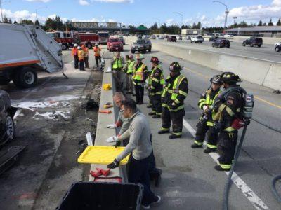 Пожарная команда, Источник: Dean C. Smith/Twitter