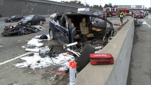 После аварии, Источник: ABC News Radio/Twitter