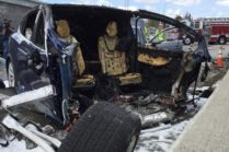 Tesla раскрыла детали и возможные причины аварии с Model X