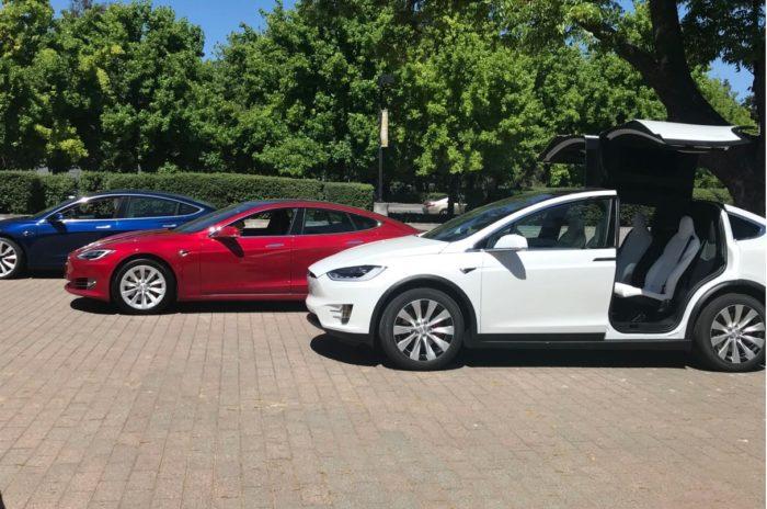 Model X, S и 3