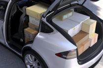 Tesla показала вместительность багажника Model X