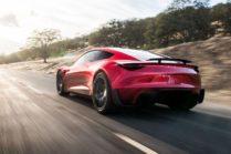 Новое поколение Tesla Roadster: 0-60 миль/ч за 1.9 с, 998 км без подзарядки
