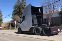 Видео: ускорение Tesla Semi в «смехотворном» режиме
